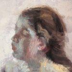 Degas Study Of A Girl's Head (Detail)