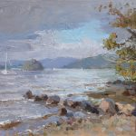 Windy Windermere 16x12ins SOLD